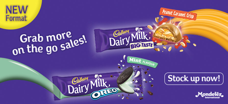 Cadbury Dairy Milk - Grab more on the go