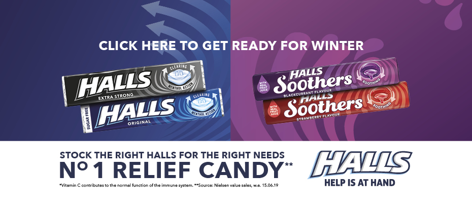 Click here to get ready for Winter - Stock the right Halls for the right needs