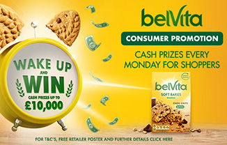 Wake up and win with belVita in latest shopper promotion
