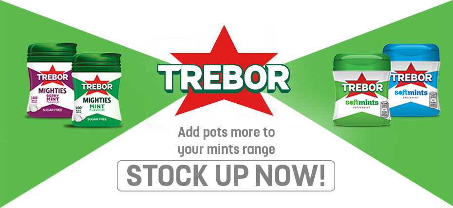 Trebor - Stock up now