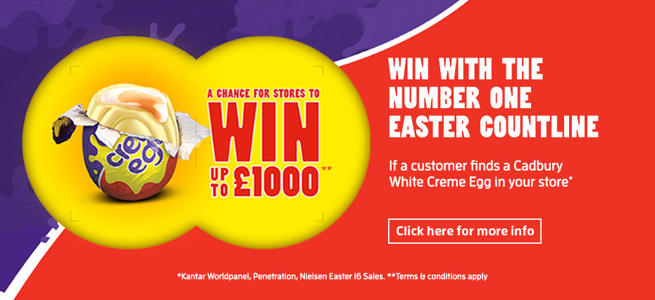 Win with the number 1 Easter countline
