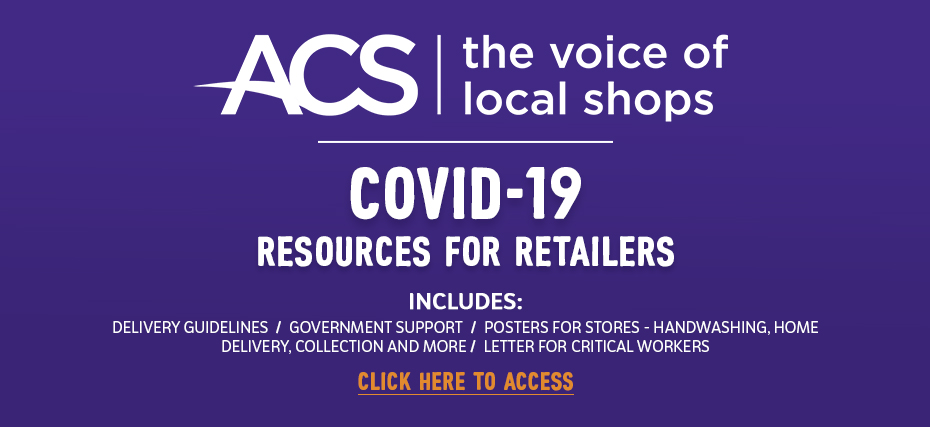 ACS - Covid-19 resources for retailers