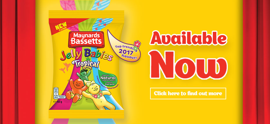 Maynards Bassetts Tropical available now - Click here to find out more
