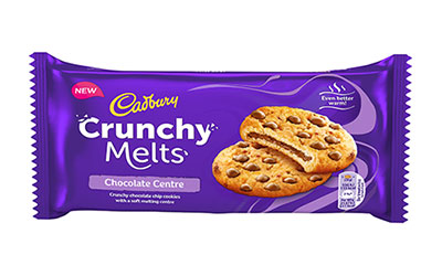 Cadbury Crunch Melts pack shot