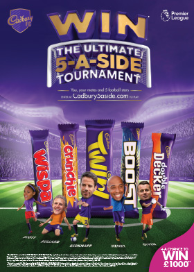 Win the Ultimate 5-A-Side tournament