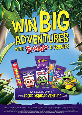 Win Big Adventures with Freddo & Friends