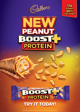 NEW Peanut BOOST+ Protein