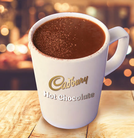 Perfect Serve Cadbury Instant Hot Chocolate