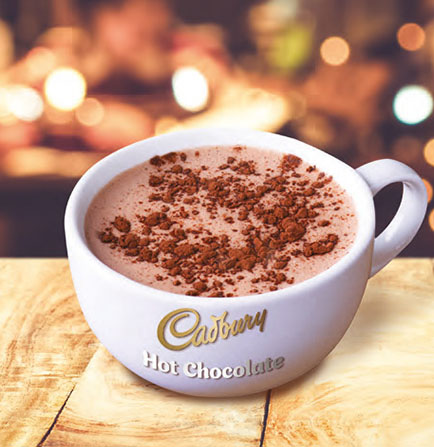 Perfect Serve Cadbury Drinking Hot Chocolate