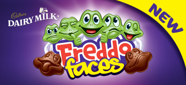 New Freddo Faces Banner