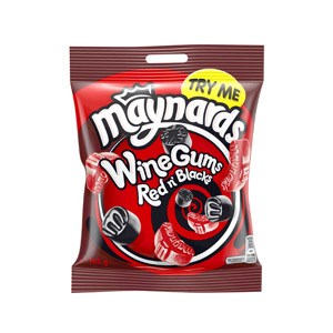 Wine Gums Red N Blacks
